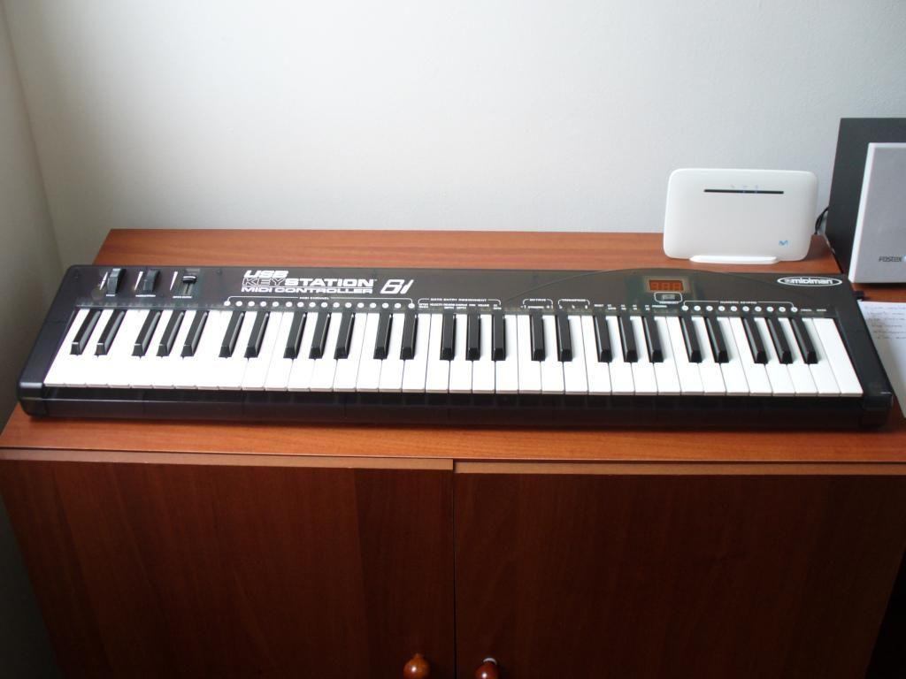 Midiman Keystation 61 controlador midi usb 5 octavas