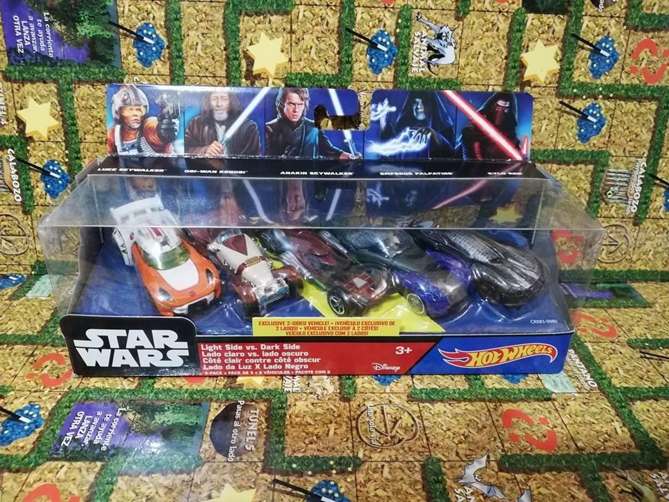 Pack Vehiculos Star Wars Skywalker, Kenobi, Palpatine, Kylo