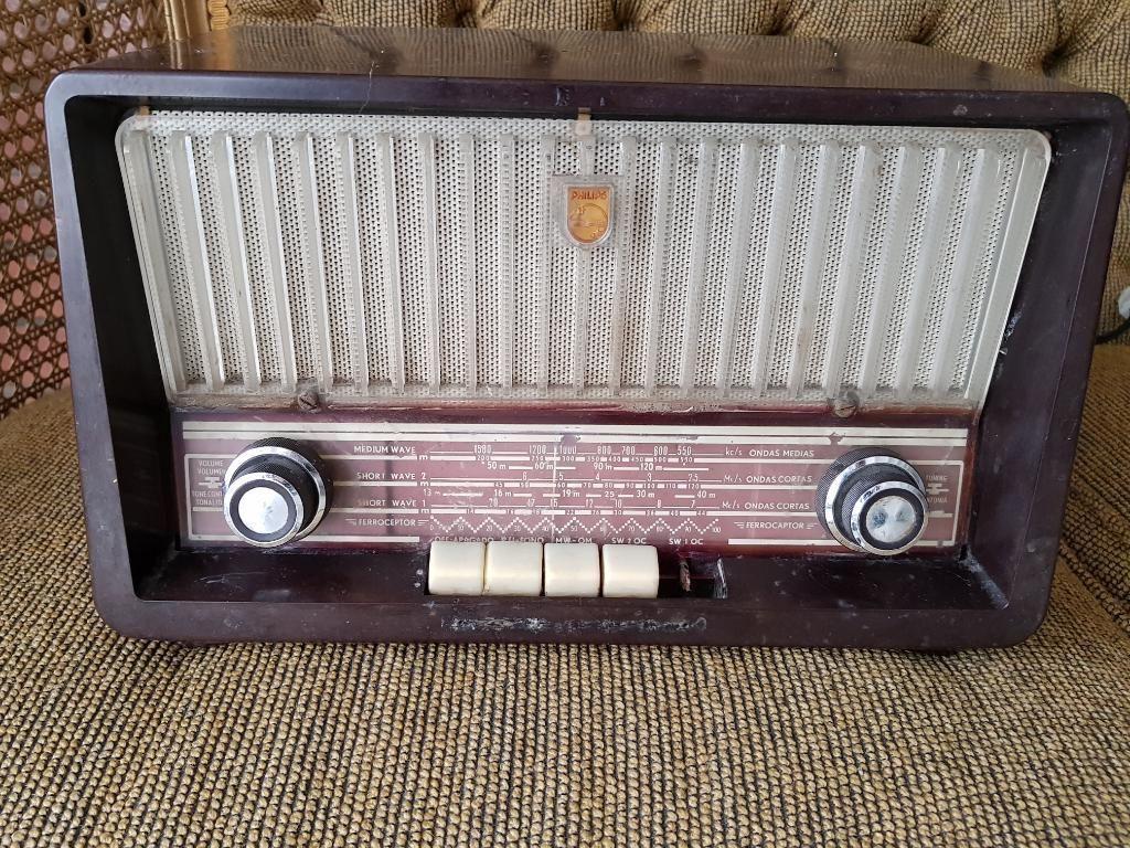 Radio Philips Antiguo Decorativo
