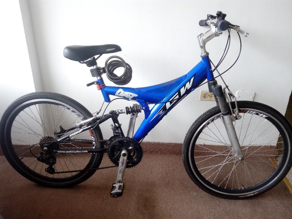 Bicicleta Gw Comet Muy Poco Uso
