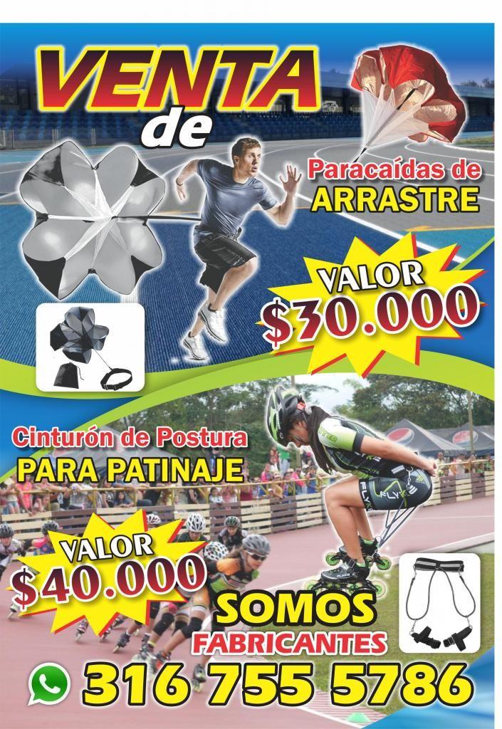 VENTA DE PARACAIDAS DE ARRASTRE Y CINTURONES DE POSTURA PARA