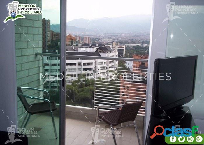 Apartamentos Amoblados Para Alquilar en Medellín Cód: 4222