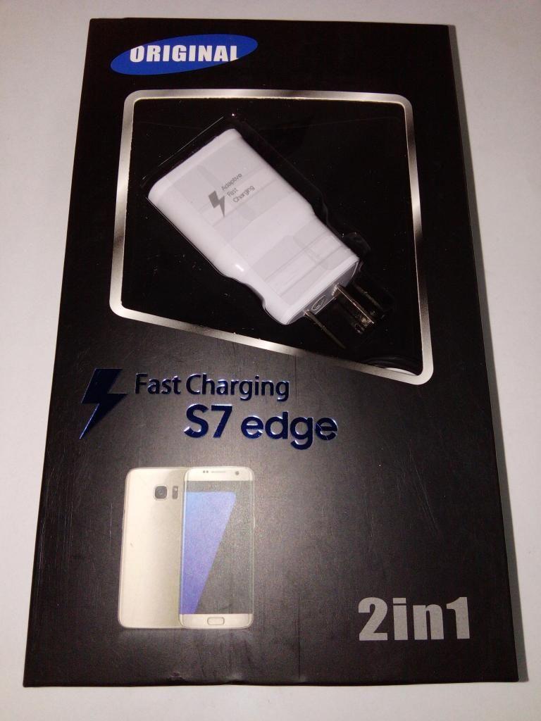 Cargador Rápido Samsung S6 S7 Edge cable Usb