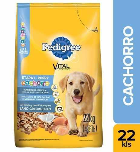 Alimento Para Perro Pedigree Cachorro X 22kg