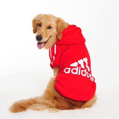 Buso Saco Mascota Adidog Razas Grandes L/6xl - Color Rojo