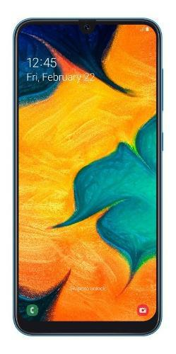 Celular Libre Samsung A30 64gb Ds Azul