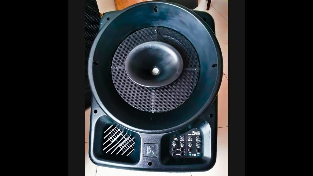 Cabina B3 Ra15 Monitor Coaxial