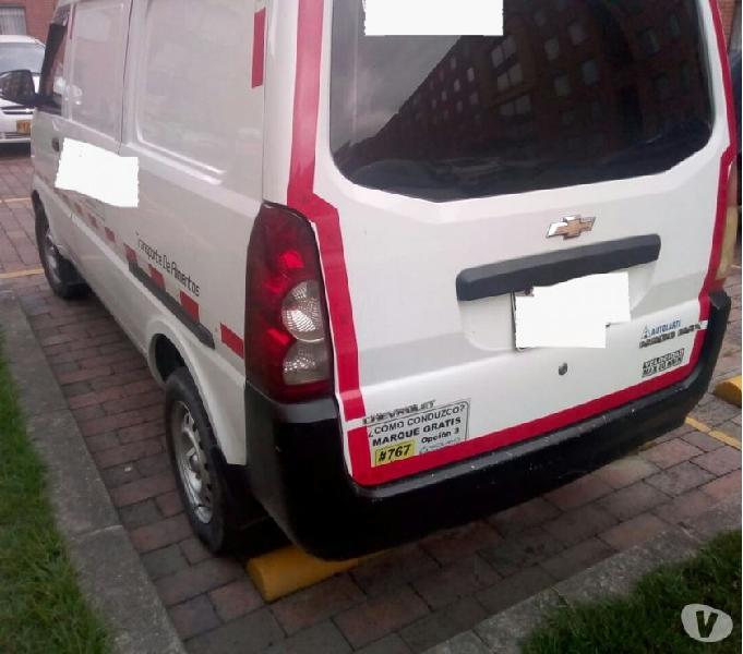 Vendo camioneta chevrolet van N300 modelo 2014
