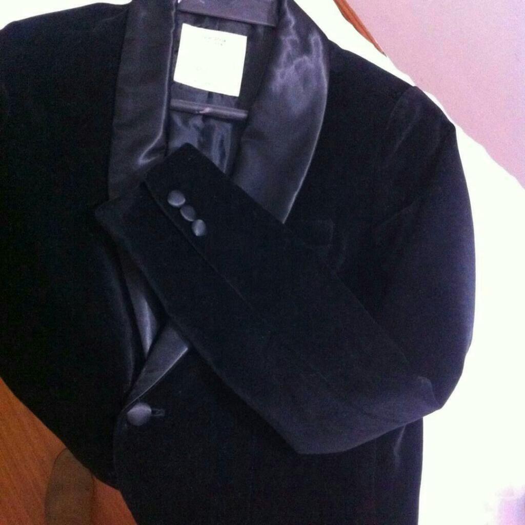 Chaqueta Formal Negra Zara Usada Boys