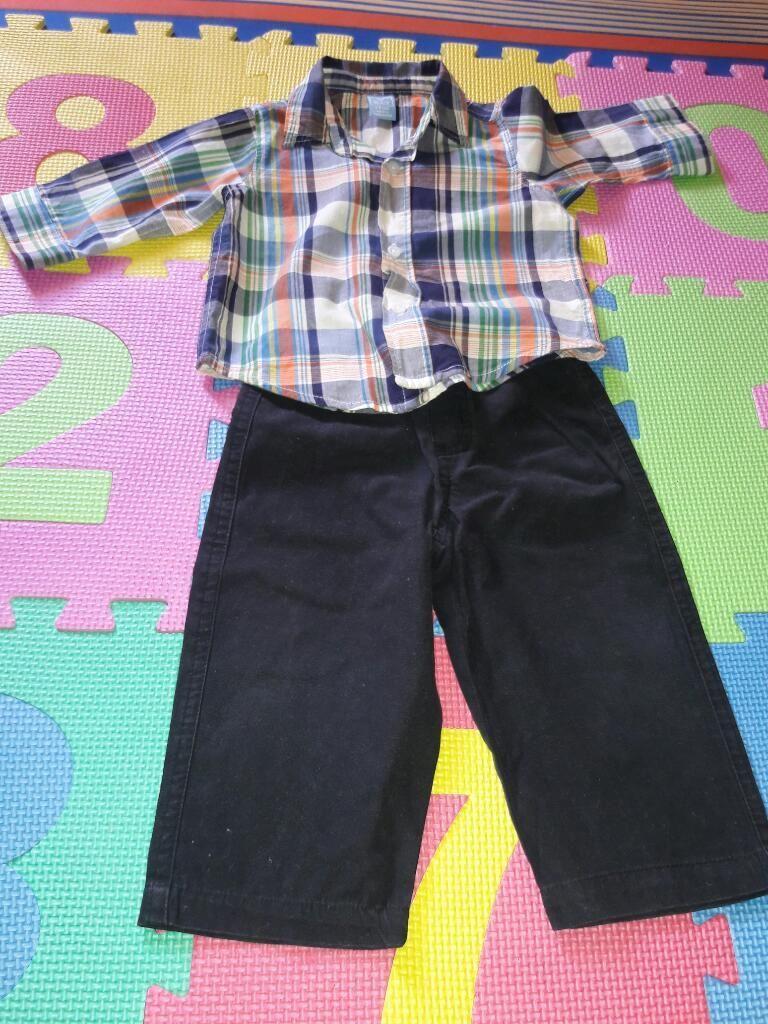 Conjunto Niño Camisa,pantalon