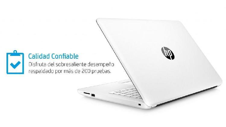 HP INTEL CORE I5 RAM DE 4GB 1TB BLANCO WIN10 WIFI