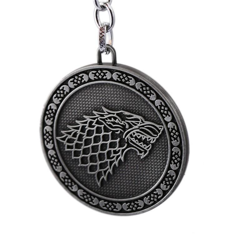 Llavero Game Of Thrones Lobo Juego de Tronos