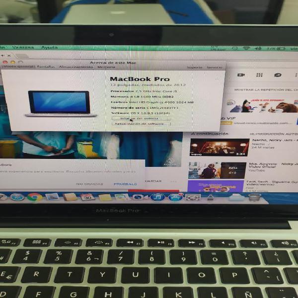 Macbook Pro Como Nuevo