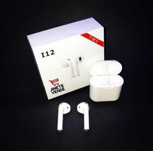 Audífonos I12 Tws Originales Tipo AirPods + Funda Gratis!