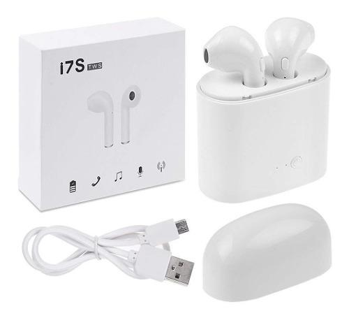 Audifono Bluetooth I7s Tws Tipo AirPods + Base De Carga