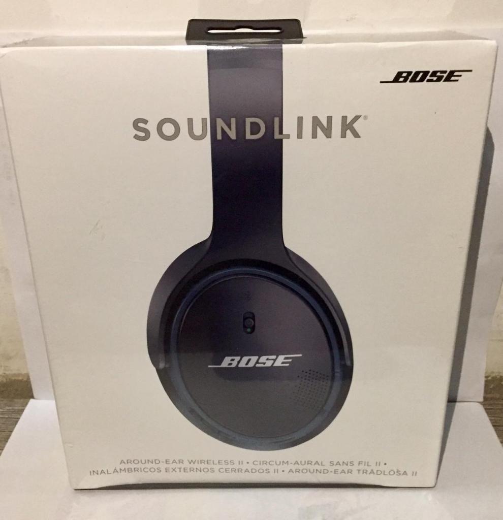 Audifonos Bose SoundLink Around Ear Wireless II NUEVOS