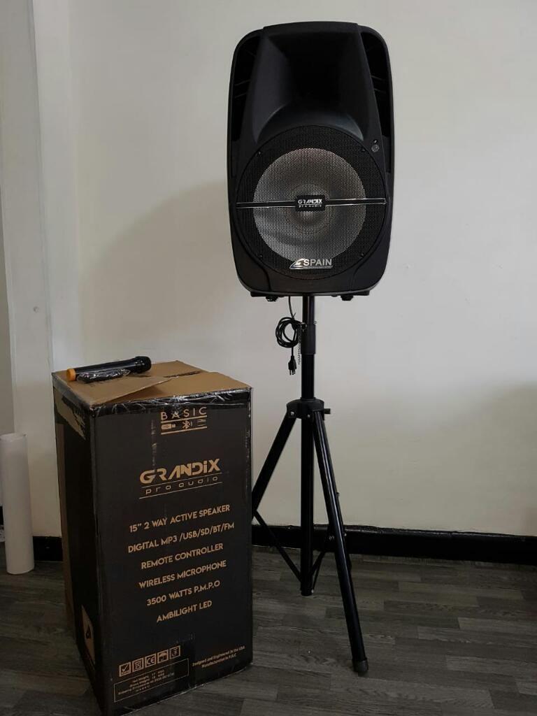 "Cabina de Sonido Spain 15"" Grandix Pro-a"
