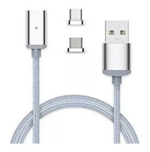 Cable Magnético Elough 2 En 1 Android Micro Usb Y Tipo C