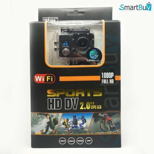 Cámara Deportiva Función Wifi Tipo Go Pro Full 1080 Hd