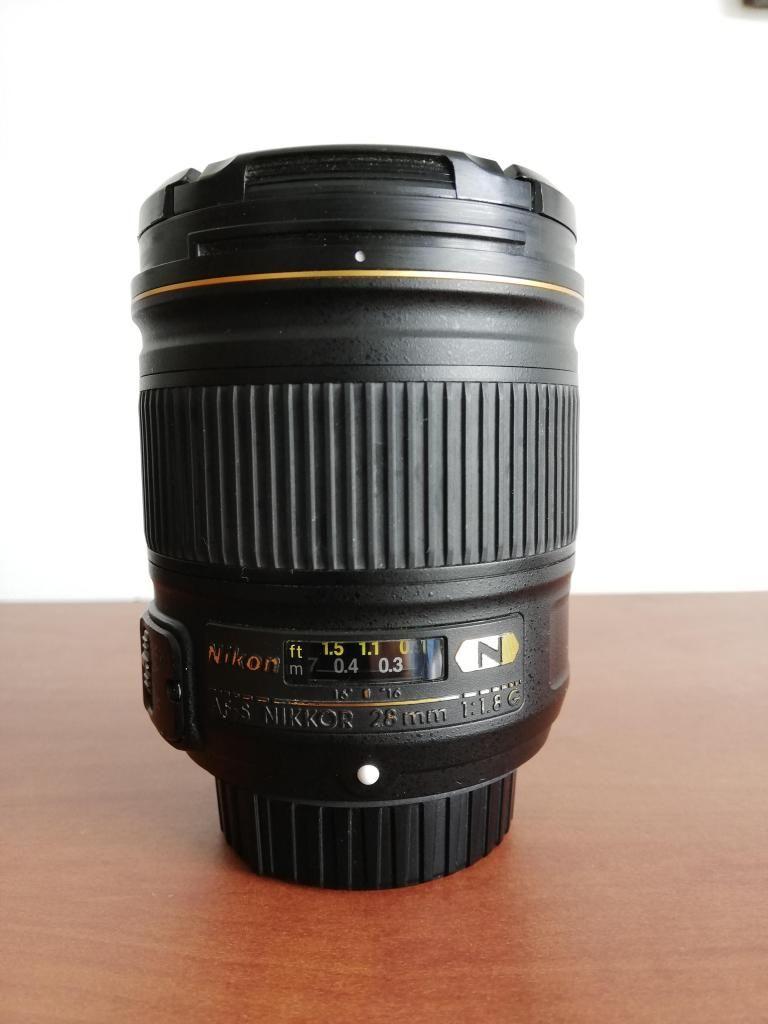 Lente Nikon 28mm 1.8g Af-s Nano Crystal Coat