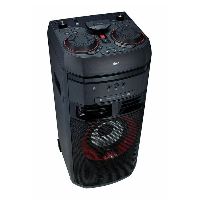 Lg xboom ok55 torre de sonido,bluetooth,usb,cd,tv,mic x2,dj