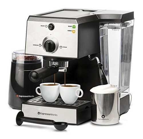 Máquina Para Hacer Café Espresso Y Capuchino, De 7 Piezas