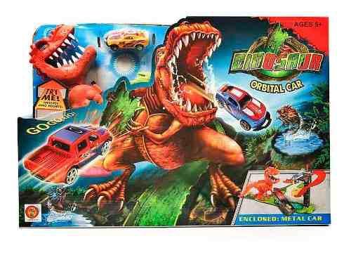 Pista Hot Orbital Dinosaurio T Rex Veloz Wheels 8899-91