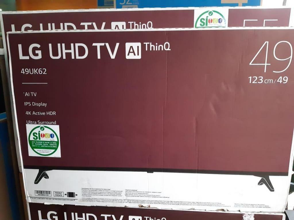 TELEVISOR LG 49 UHD 4K SMART TV