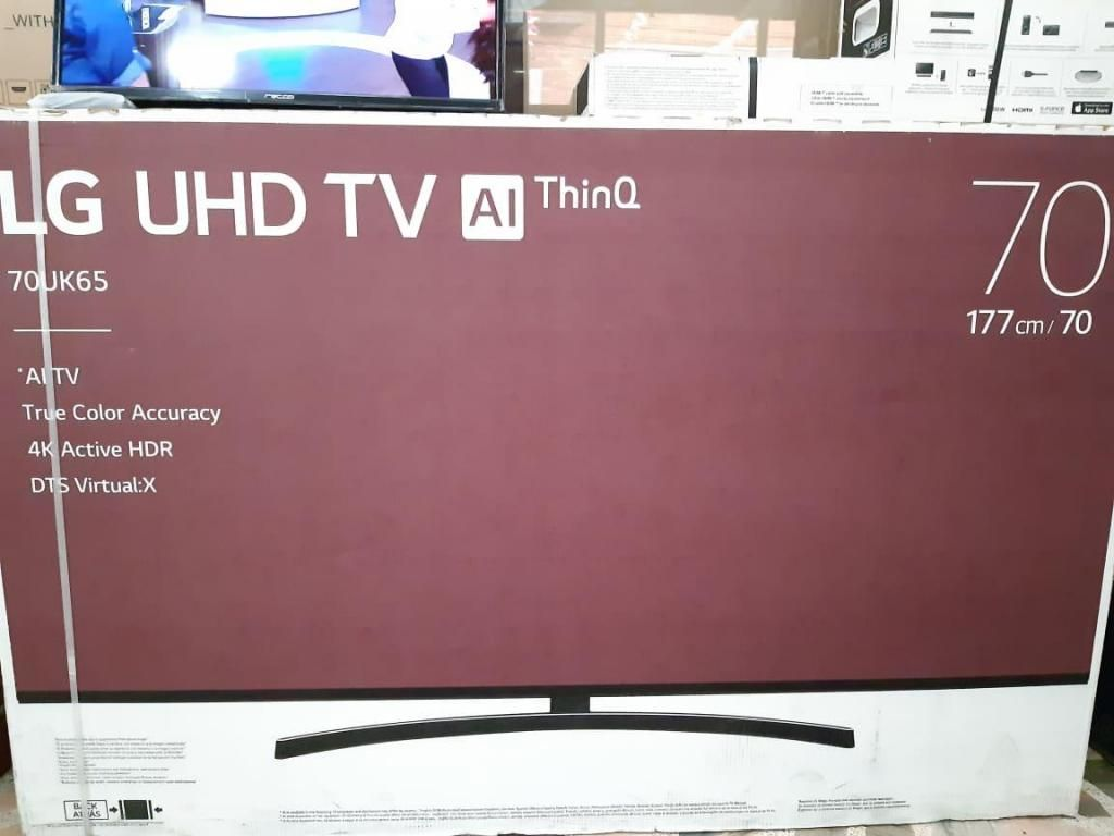 TELEVISOR LG 70 PULGADAS UHD 4K SMART TV