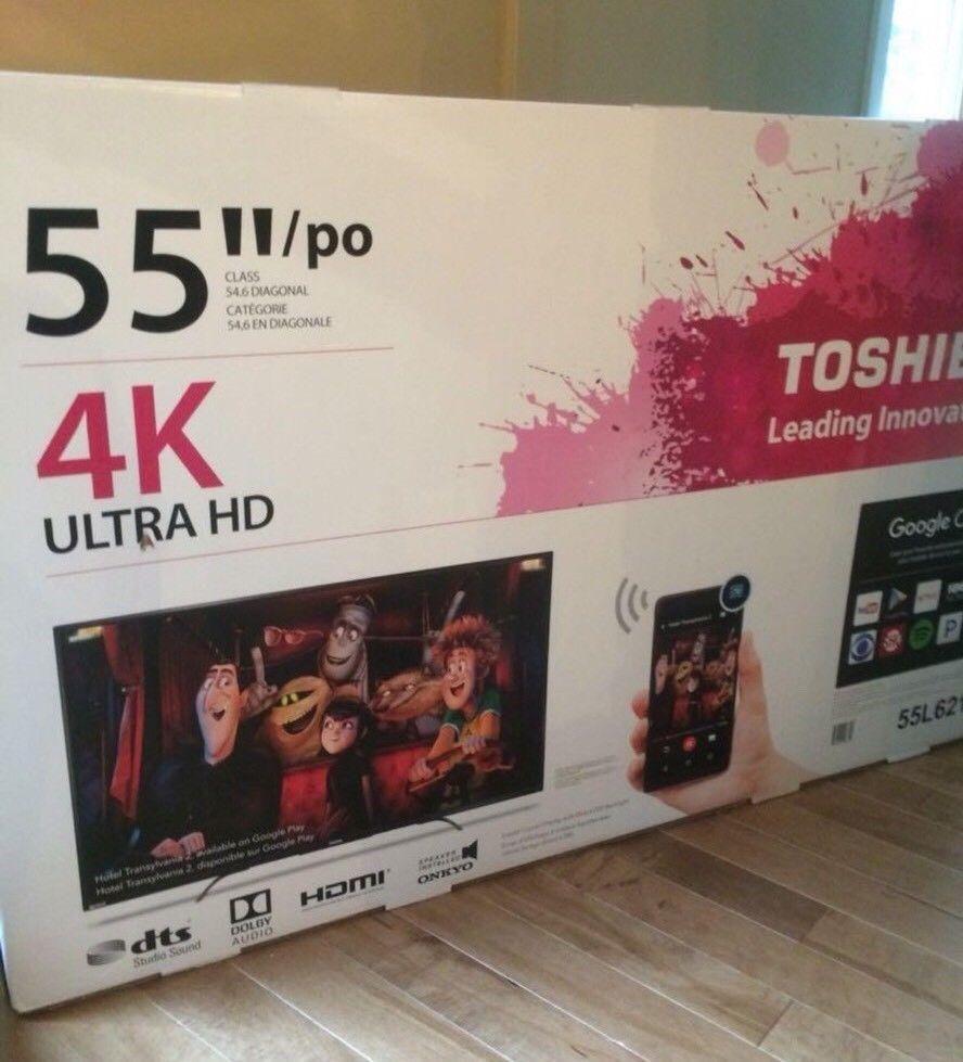TV TELEVISOR TOSHIBA 55 4K UHD  SMART TV WIFI INTERNET