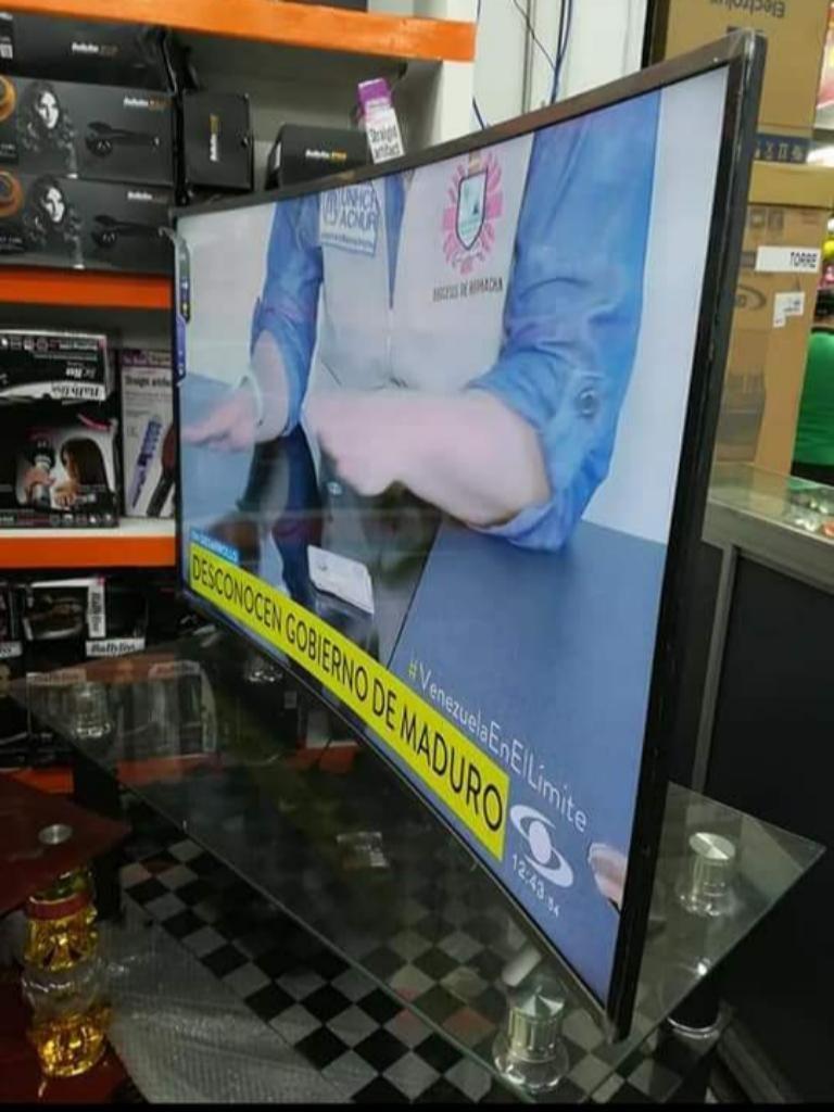 Televisor Samsung Smartv Curvo 4k Wi-fi