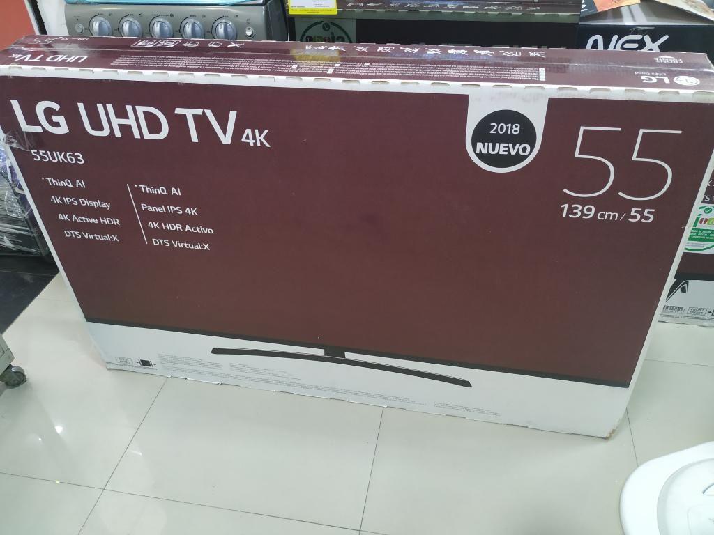Tv Lg Uhd 4kvde 55 Pulgada Nuevo