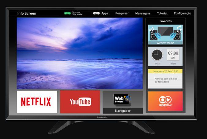 televisor led panasonic smart tv wifi tdt bluetooth como