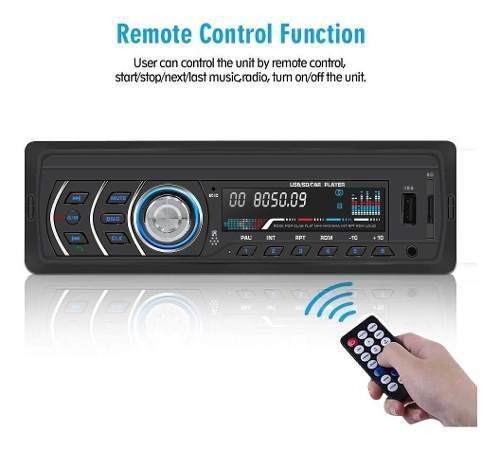 1din Car Stereo Player Radio Para Coche Fm Y Mp3 Mp4 Rece...