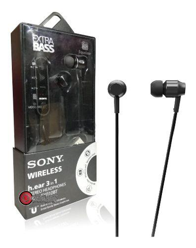Audífonos Sony Bluetooth Extra Bass 3 En 1 Mdr-ex0110bt