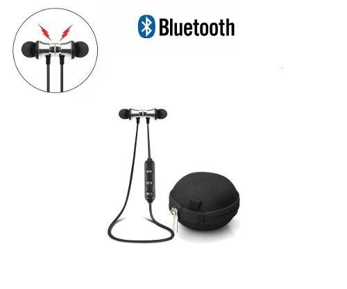 Audifonos Bluetooth Inalambricos Magneticos + Estuche