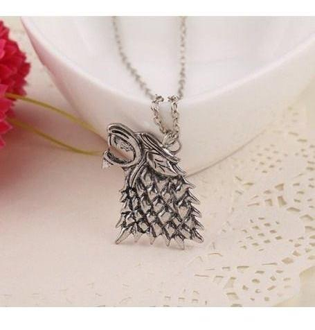 Collar Game Of Thrones Juego De Tronos Lobo Stark + Obsequio