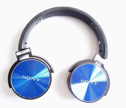 Diadema Bluetooh Radio Memoria Micro Sd Auxiliar Extra Bass