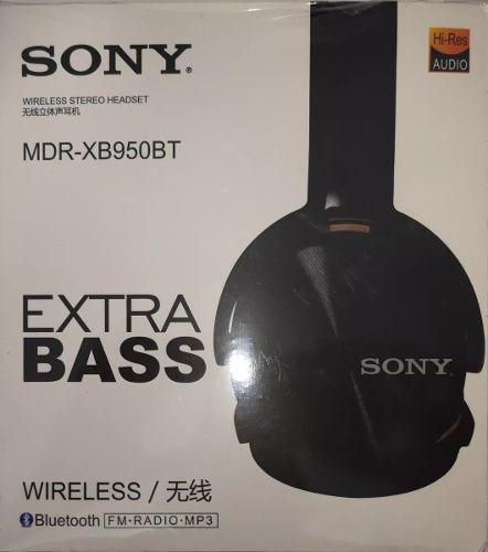 Diadema Bluetooth Sony Bluetooth Extra Bass Mdr-xb950b Negro
