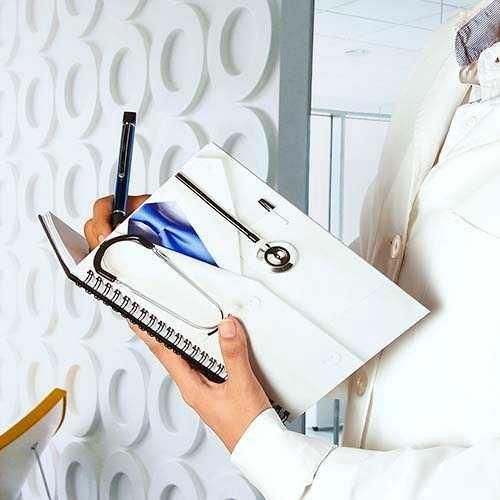 Libreta Doctor Agenda Doc Marcamos Logo Al Por Mayor