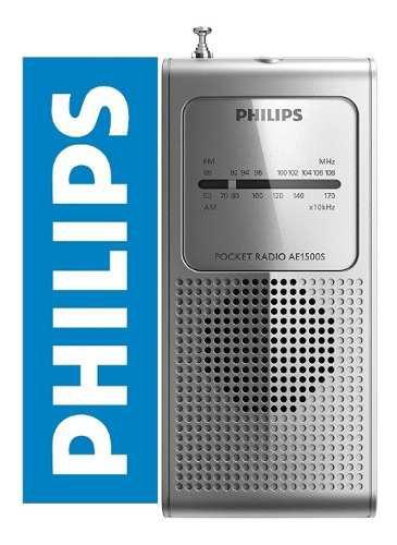 Radio Philips Ae1500 Portatil Fm/am Audifono Envío Hoy