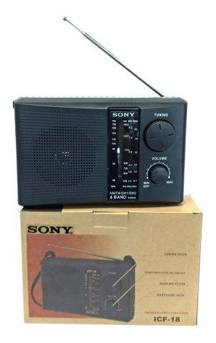 Radio Sony 4bandas (Am/fm/sw) Modelo Clásico / Replica Aaa
