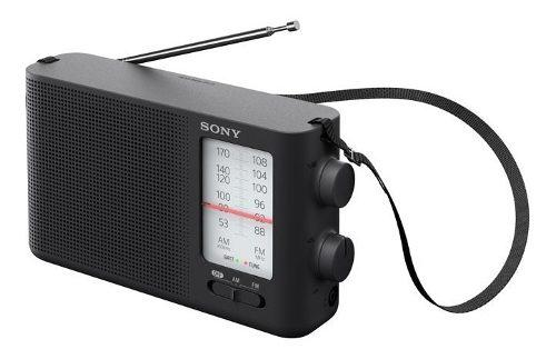 Radio Sony Icf 19 2 Bandas Fm/am Analogico Altavoz + Obs
