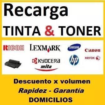 Recarga Cartuchos Toner Y Tinta: Reparación Relleno