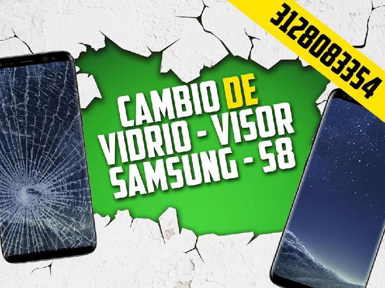 Vidrio Viso de Samsung S8 - Cambio incluido - FIXPOK