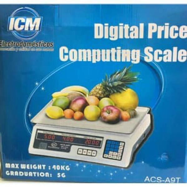 Bascula Digital Electronica Balanza 40 K