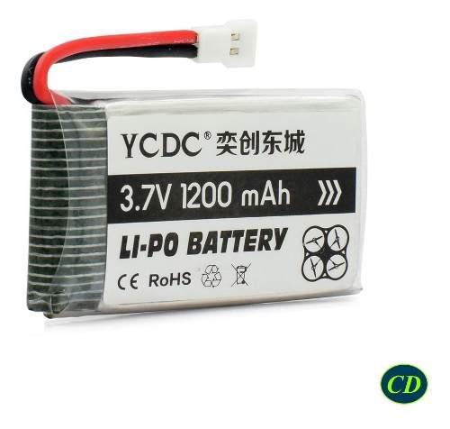 Bateria Polimero Litio 3.7v, 600mah 802540 Lipo Rc Drone 25c