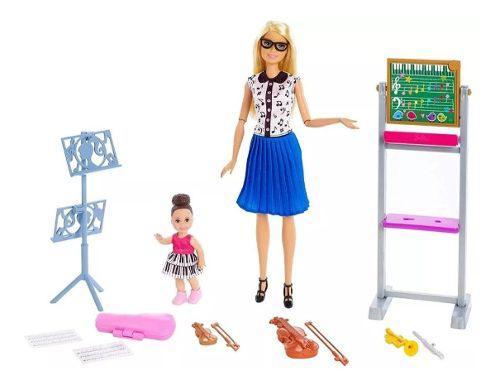 Muñeca Barbie Articulada Teacher + Accesorios + Entrega Ya