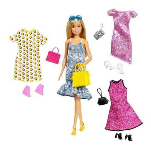 Muñeca Barbie Con Accesorios Y Complementos Mattel Gdj40