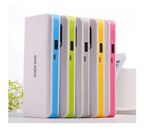 Power Bank 4800mah Bateria Externa Portatil Celular Colores